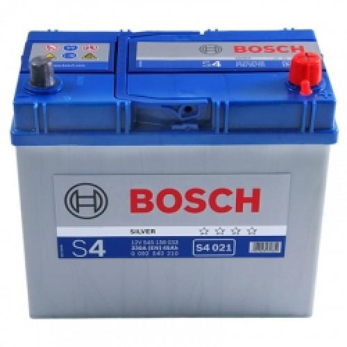 Аккумулятор Bosch S4 Silver 45A, R+