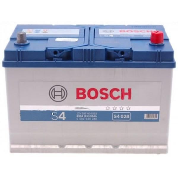 Аккумулятор Bosch S4 Silver 95A, R+