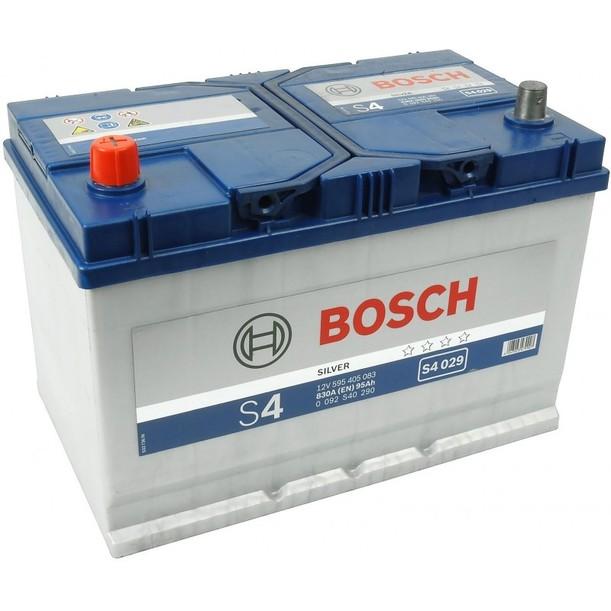 Аккумулятор Bosch S4 Silver 95A, L+