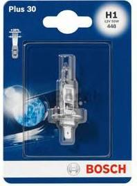Лампа галогеновая Bosch Plus 30, H1