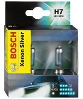 Лампы автомобильные Bosch Xenon Silver H7, комплект 2  шт.