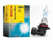 Лампа галогеновая Bosch Xenon Blue, HB4