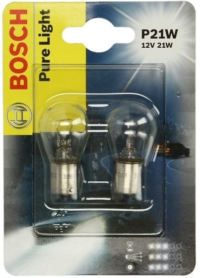 Лампы Bosch Pure Light, P21W
