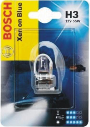 Лампа галогеновая Bosch Xenon Blue