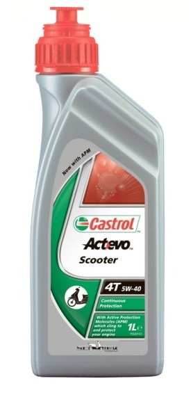 Castrol Act Evo Scooter 4T 5W-40, 1 л.