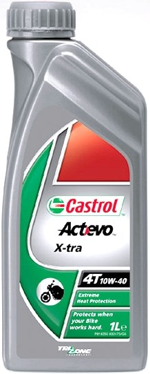 Castrol Act Evo 4T 10W-40, 1 л.