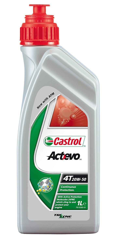Castrol Act Evo 4T 20W-50, 1 л.