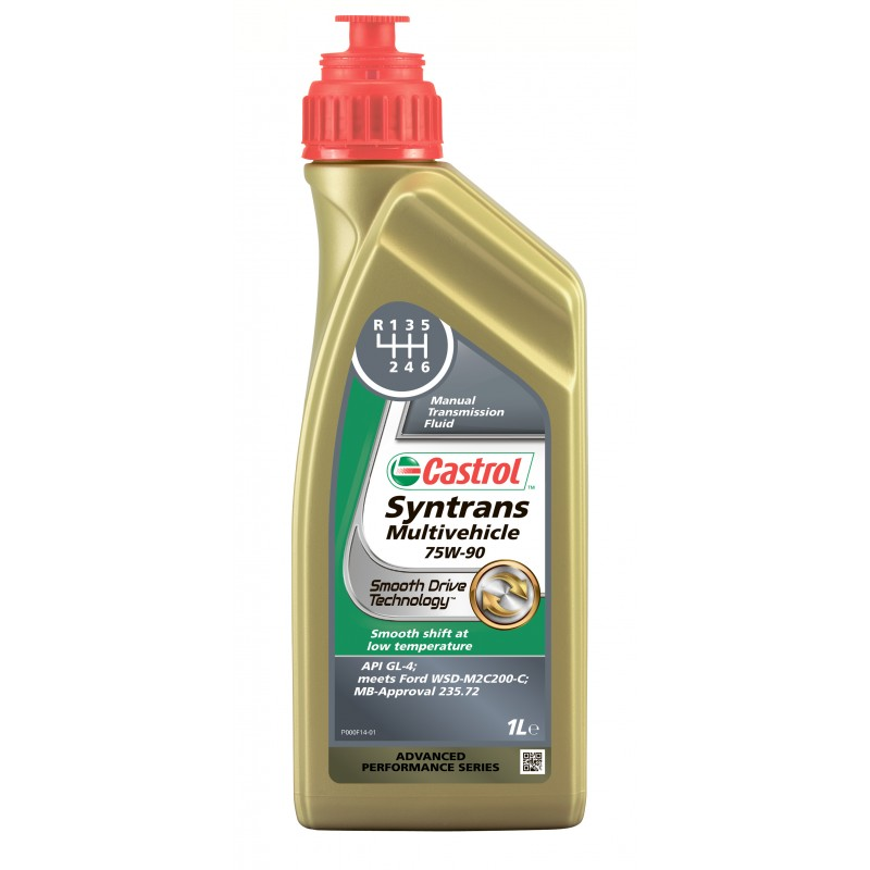 Castrol Syntrans Multivehicle 75W-90, 1 л.