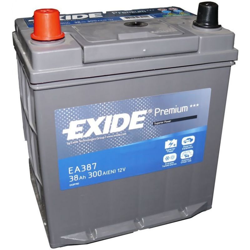 Аккумулятор Exide Premium 38A, L+