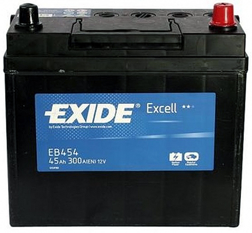 Аккумулятор Exide Excell 45A, R+