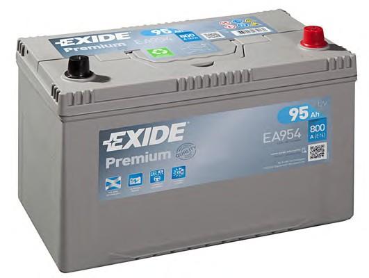 Аккумулятор Exide Premium 95A, R+