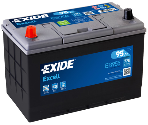 Аккумулятор Exide Excell 100A, L+
