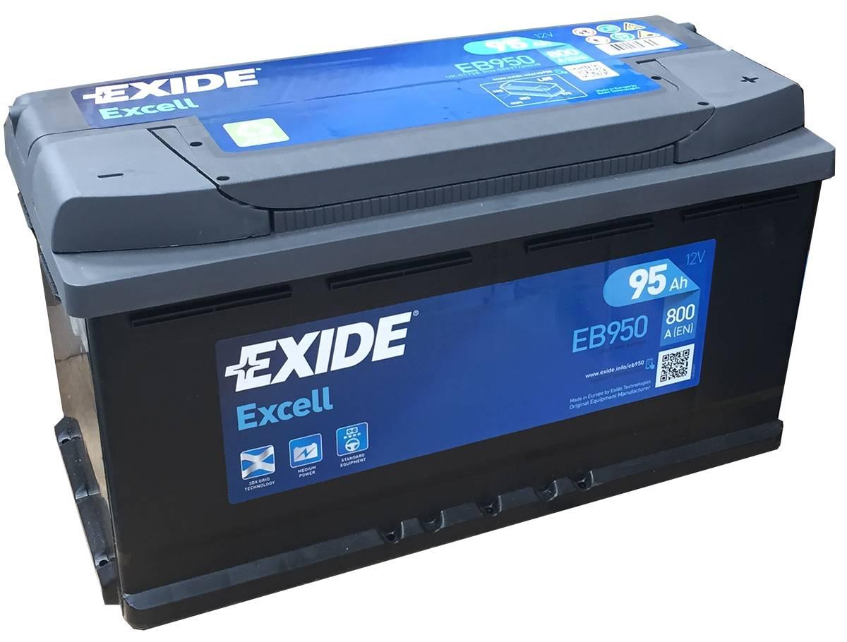Аккумулятор Exide Excell 95A, R+