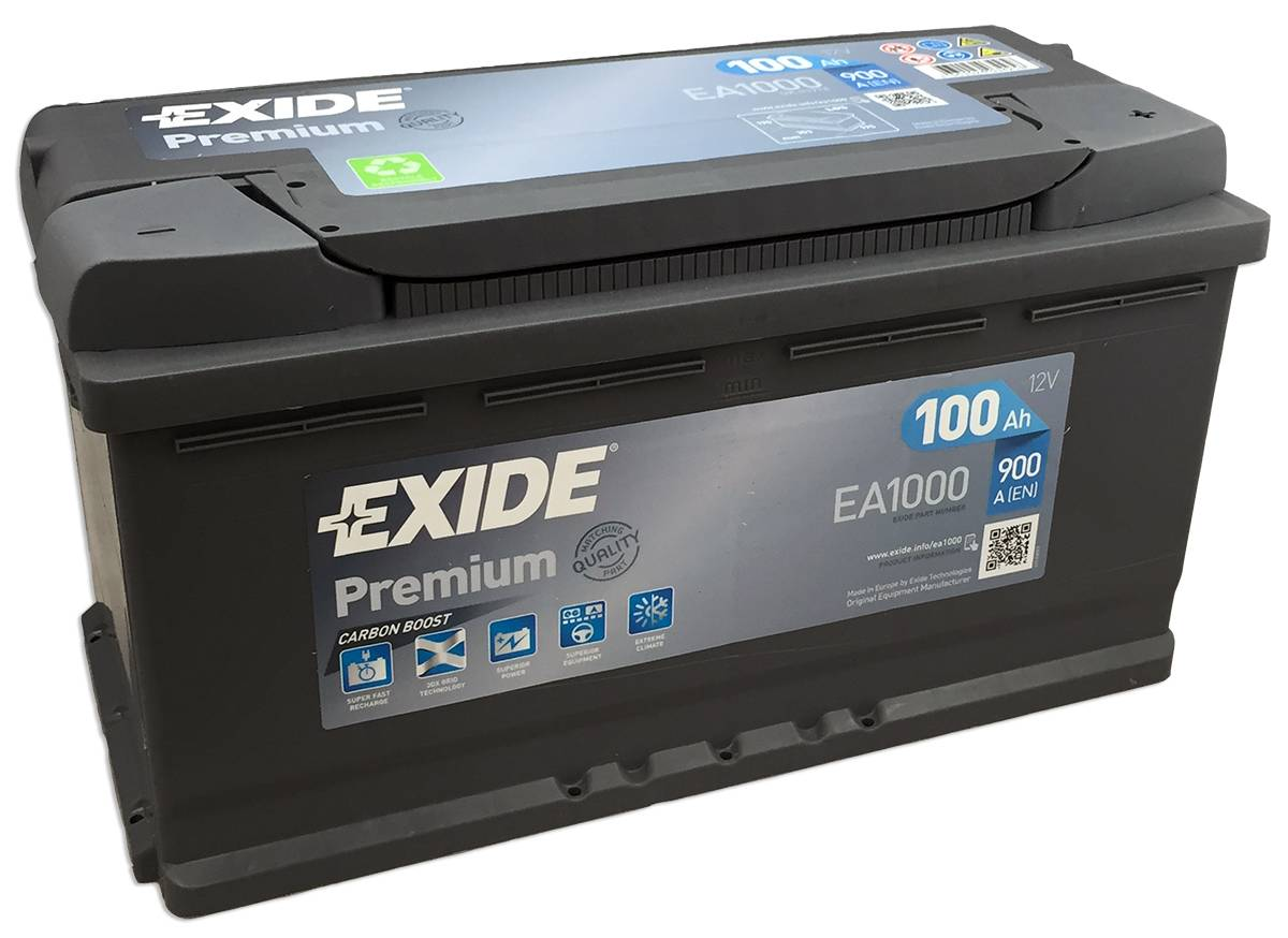 Аккумулятор Exide Premium 1000A, R+