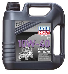 Liqui Moly 4T ATV Motor Oil 10W-40, 4 л.