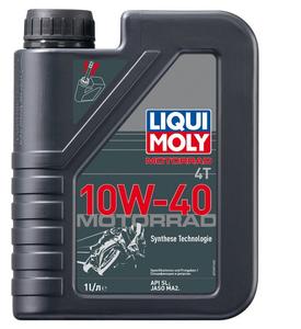 Liqui Moly 4T Motorrad Synth 10W-40, 1 л.