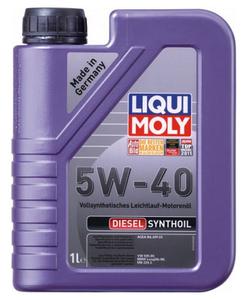 Liqui Moly Diesel Synthoil 5W-40, 1 л.