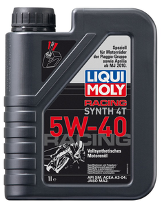 Liqui Moly 4T Racing Synth 5W-40, 1 л.