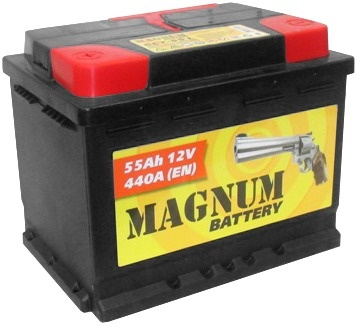 Аккумулятор Magnum 55 А, п/п