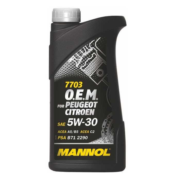 Mannol 7703 O.E.M. for Peugeot Citroen 5W-30, 1 л.
