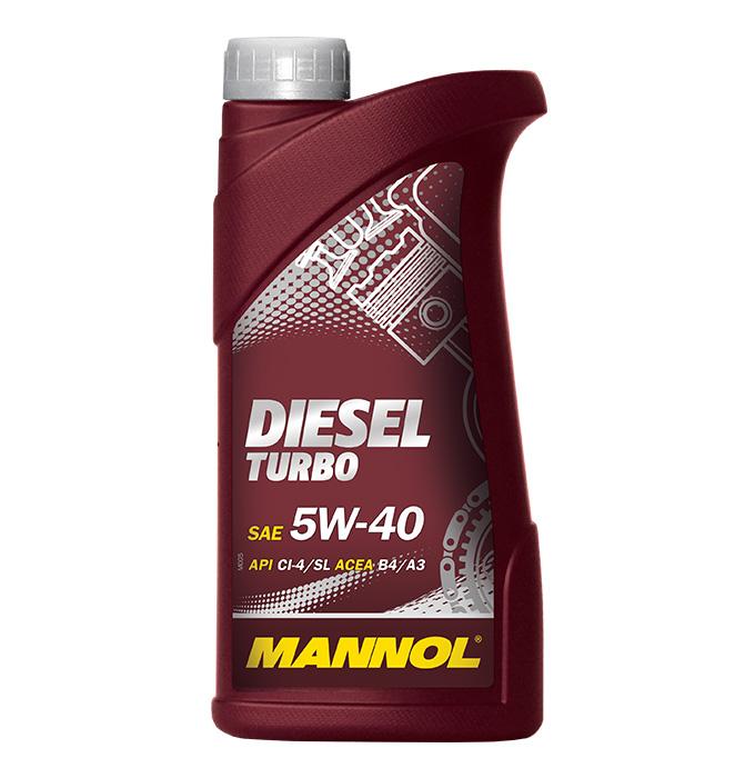 Mannol Diesel Turbo 5W-40, 1 л.