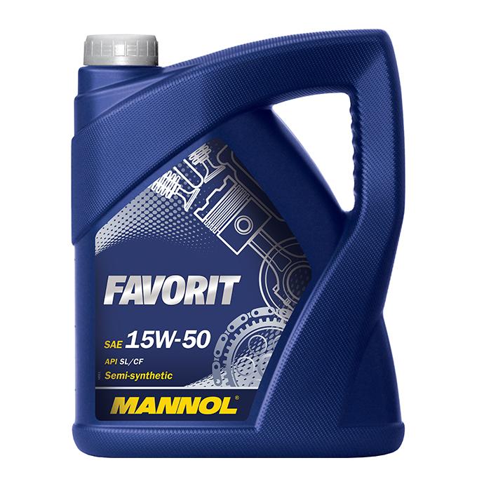 Mannol Favorit 15W-50, 1 л.