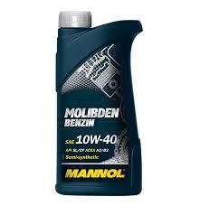Mannol Molibden Benzin 10W-40, 1 л.