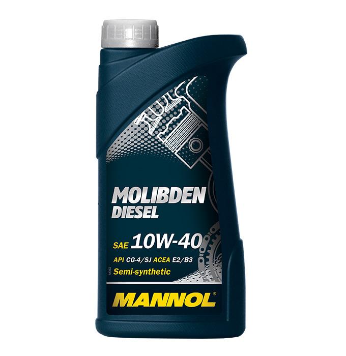Mannol Molibden Diesel 10W-40, 1 л.