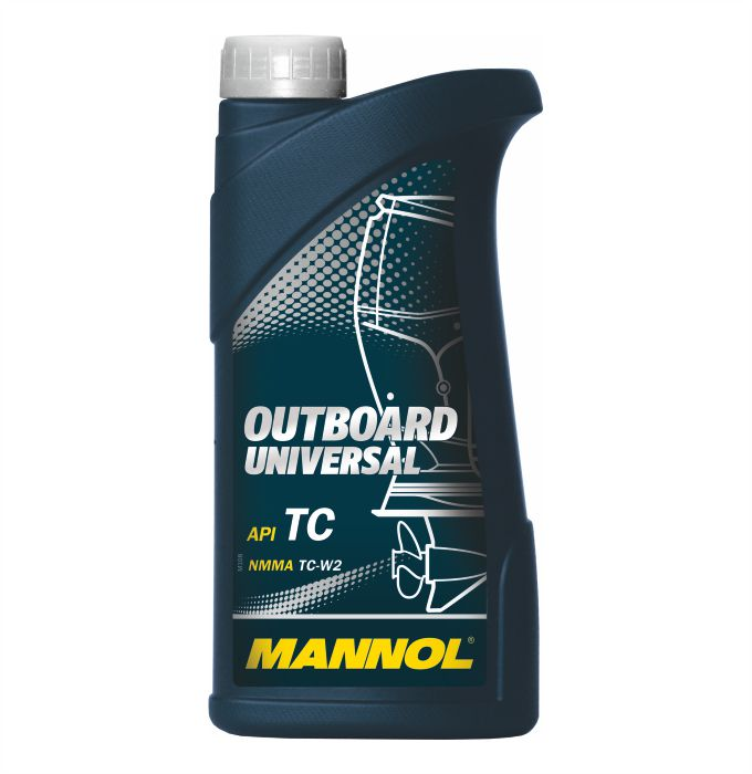 Mannol Outboard Universal , 1 л.