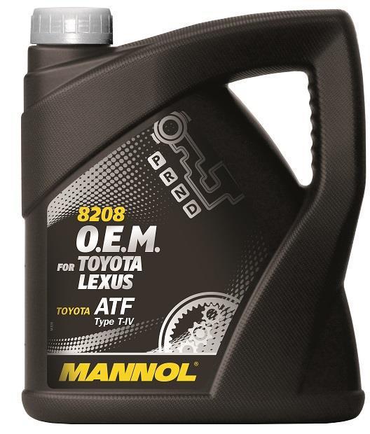Mannol ATF T-IV / O.E.M. for Toyota Lexus, 4 л.