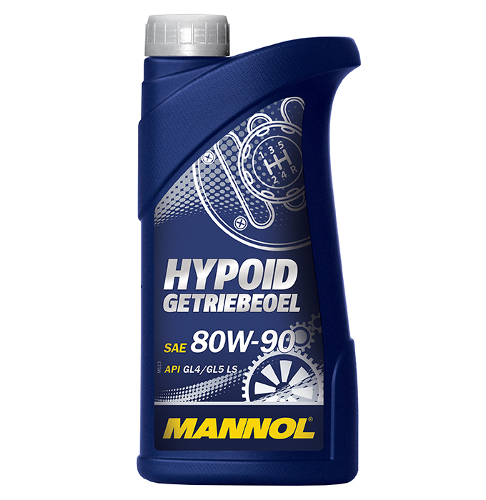 Mannol Hypoid 80W-90 GL-4/GL-5, 1 л.
