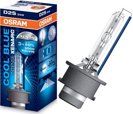 Osram Cool Blue Xenarc, D2S ксенон 5000K (66240CBI)