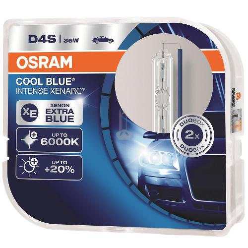 Osram Cool Blue Intense Xenarc, D4S 6000K, комплект 2 шт. (66440CBI-DUOBOX)