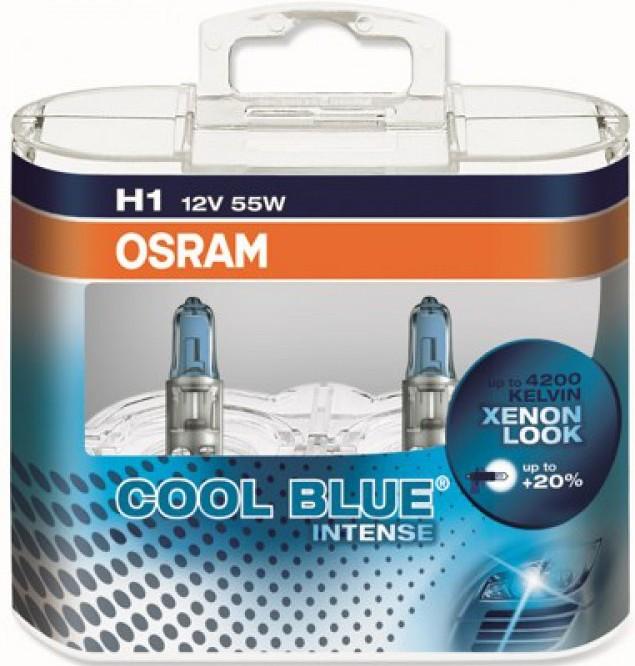 Osram Cool Blue Intense, H1