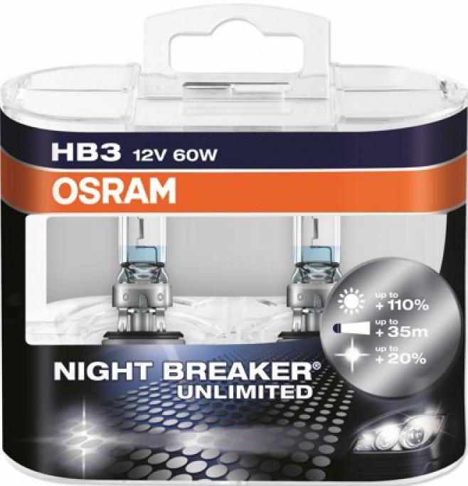 Лампа галогенная Osram Night Breaker Unlimited +110%
