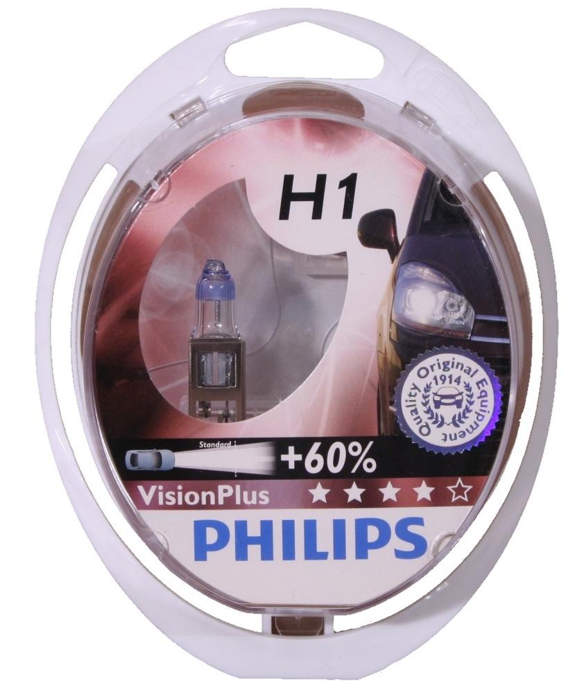 Лампа галогеновая Philips VisionPlus, H1
