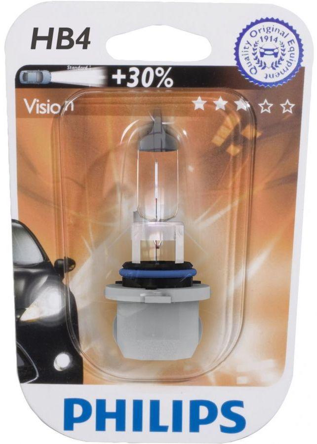 Лампа галогеновая Philips Premium, HB4