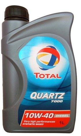 Масло моторное Total Quartz 7000 10W-40, 1 л.