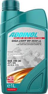 Масло моторное Addinol Giga Light MV 0530 LL 5W-30, 1 л.