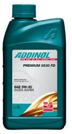 Масло моторное Addinol Premium 0530 FD 5W-30, 1 л.