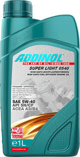 Масло моторное Addinol Super Light 0540 5W-40, 1 л.