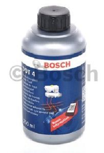 Тормозная жидкость Bosch DOT 4, 0.25 л.