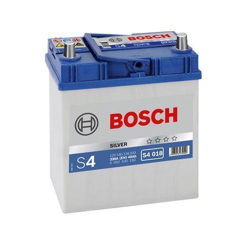 Аккумулятор Bosch S4 Silver 40A, L+