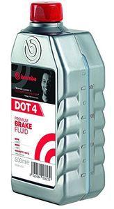 Тормозная жидкость Brembo Premium Brake Fluid DOT4, 0,5 л.