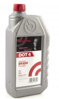 Тормозная жидкость Brembo Premium Brake Fluid DOT4, 1 л.