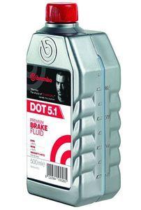 Тормозная жидкость Brembo Premium Brake Fluid DOT 5.1, 0,5 л.