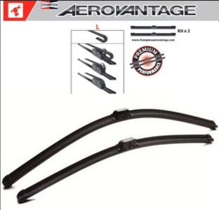 Champion Aerovantage Flat Blade Kit 550/500 mm.