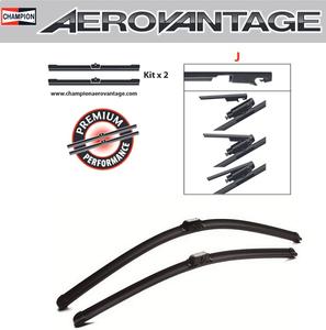 Champion Aerovantage Flat Blade Kit 550/550 mm.