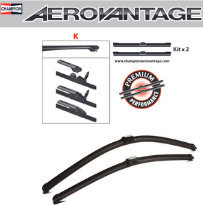 Champion Aerovantage Flat Blade Kit 550/550 mm.