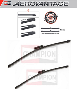 Champion Aerovantage Flat Blade Kit 580/530 mm.